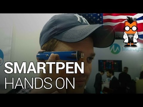 Smartpen Wearable with Gesture Control Hands on at MWC 2014