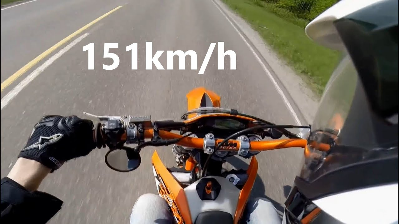 Ktm Exc Top Speed