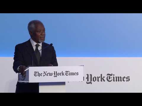 The New York Times Athens Democracy Forum 2017. Kofi Annan Welcome Remarks