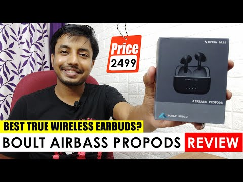 Boult Audio Airbass Propods Full Review With Sound Test & Pubg Latency Test.