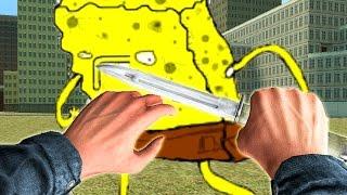 Garry's Mod 'NIGHTMARE SPONGEBOB SURVIVAL' (Gmod Spongebob Funny Moments, Five Nights At Spongebob)