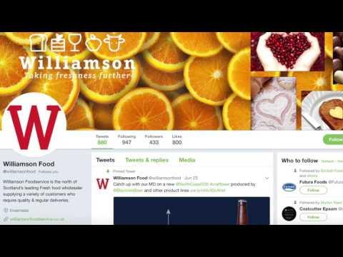Williamson Foodservice – MD Gary Williamson on social media