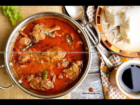 Kerala Style Chicken Curry With Coconut Milk | Kothamally