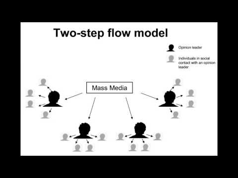 What Is Two Step Flow Theory In Hindi? |Concepts Of Opinion Leader.