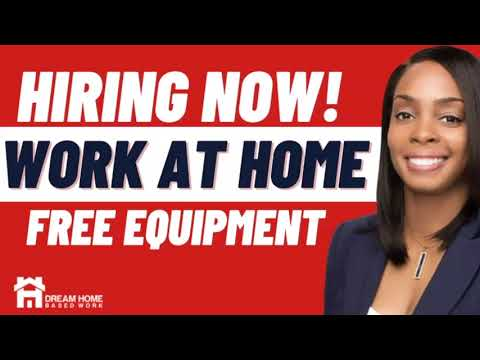 FREE EQUIPMENT| $12/hr Work from Home Job Hiring Now (US ONLY)
