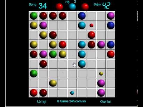 Game line 98 phiên bản cũ – Xếp bi nhiều màu