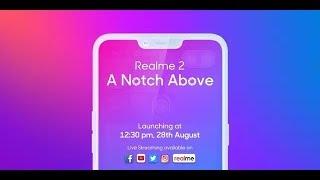 Realme 2 live launch | Mr.V
