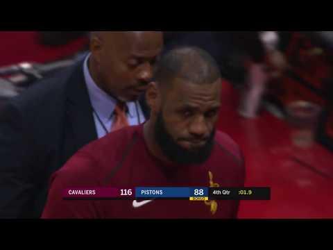 Cleveland Cavaliers vs Detroit Pistons: November 20, 2017
