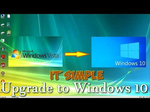 How To Download And Install Windows 10 Instead Of Windows Vista/ХР . Step-by-step Complete