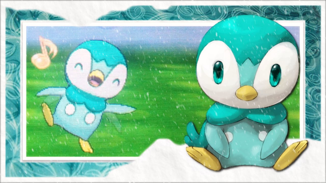 LIVE!! Shiny Piplup from Professor Birch in AlphaSapphire after 1340 SRs