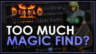 [Guide] DO YOU HĄVE TOO MUCH MAGIC FIND? - Diablo 2 Resurrected