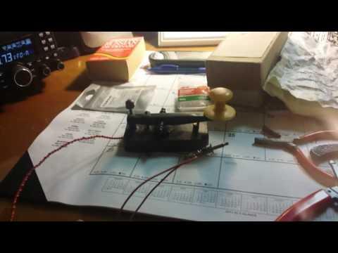 Ukrainian Telegraph Straight Key / Morse / CW / Ham-Amateur Radio