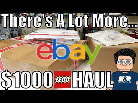 $1000+ LEGO Haul From EBay & LEGO Store! RARE LEGO SETS CHEAP?