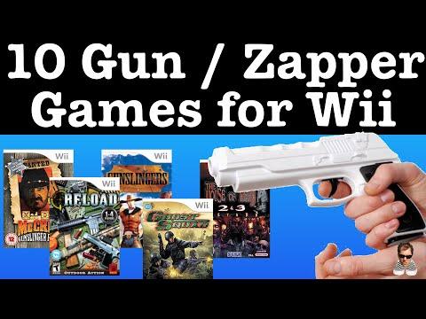 10 Wii Light GUN / Zapper Games