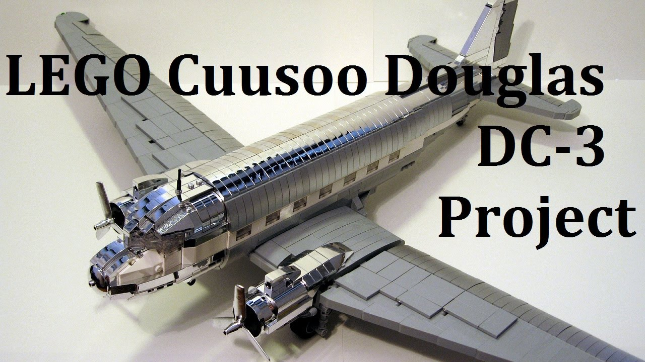 LEGO Cuusoo Douglas DC
