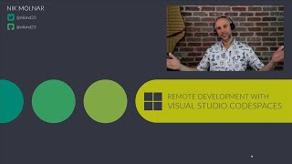 Remote development with Visual Studio Codespaces | BOD109