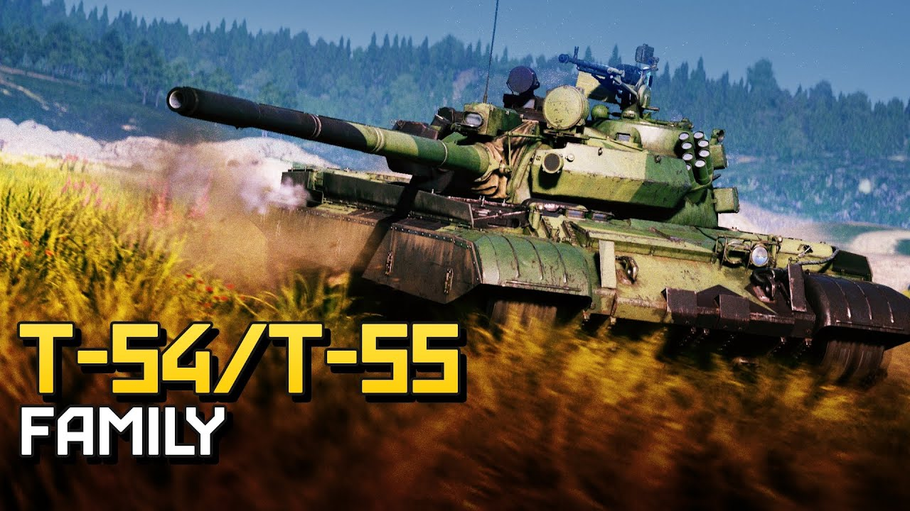 T-54/T-55 family | War Thunder