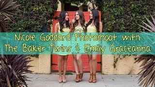 Nicole Goddard Photoshoot with The Baker Twins & Emily Graceanna| Baker Twins