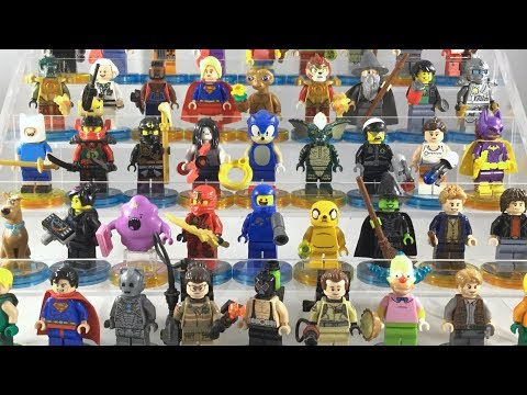 All Lego Dimensions Minifigures - Waves 1 to 9 (Complete Collection)