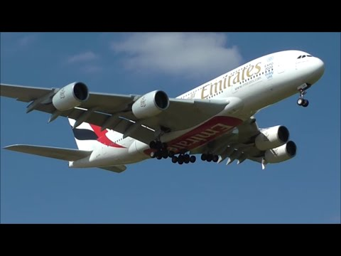 Planespotting at London Gatwick Airport, LGW | 1 Hour Long!