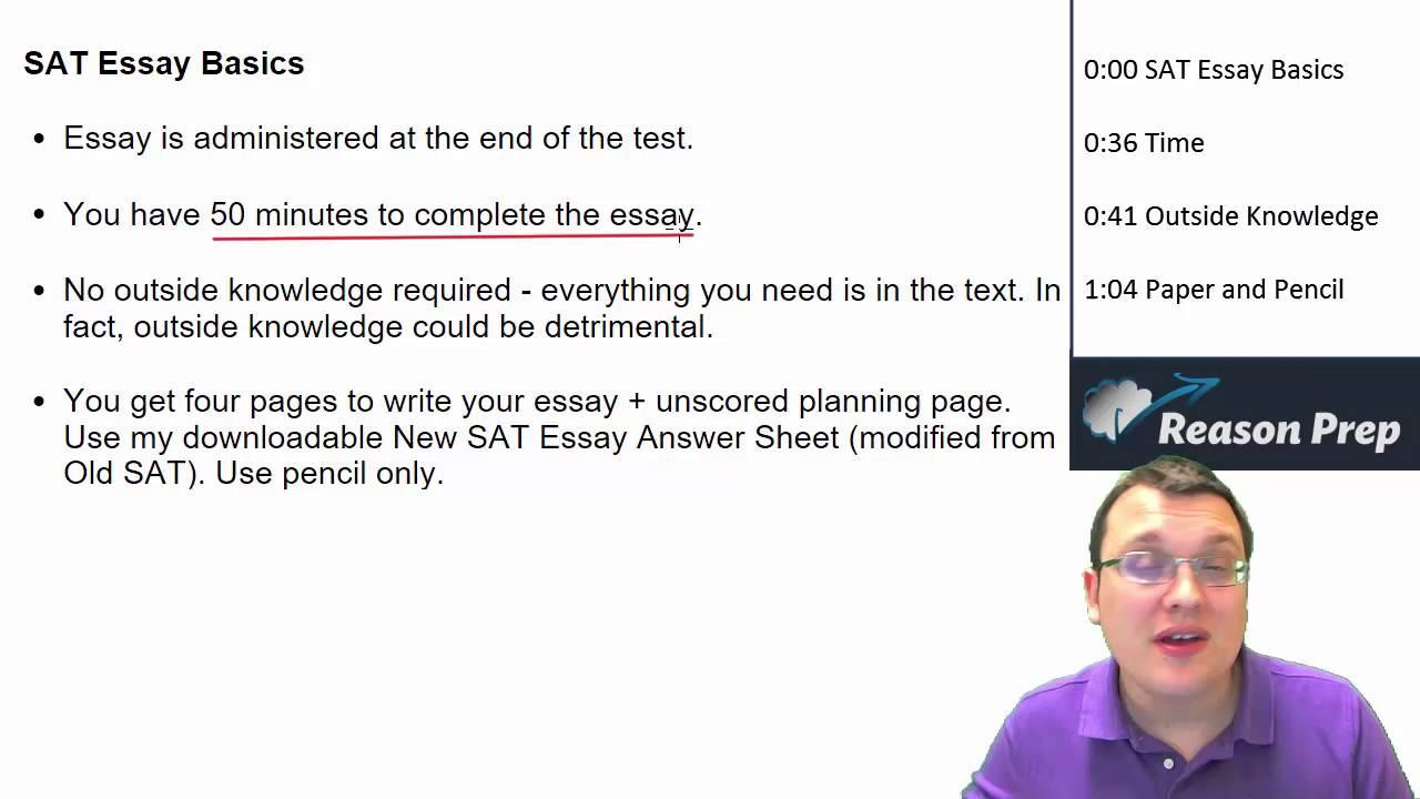 Free New SAT Essay Course! - SAT Essay Course #1
