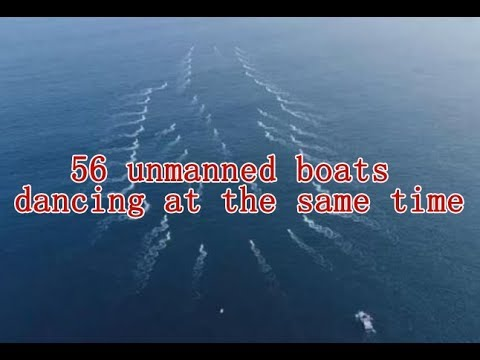 China conducts large scale test of unmanned vessels, more drone boat than the USA