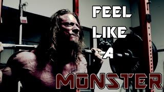 "Powerlifting Motivation - ""FEEL LIKE A MONSTER"""