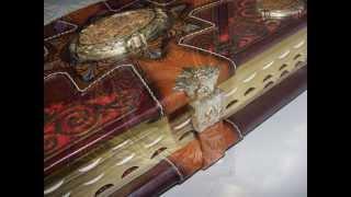 Подарочные книги: Евангелие. Библия. Молитвослов.Кожаный переплет. Ручная работа.(Подарочные книги. Ручная работа. Православная мастерская