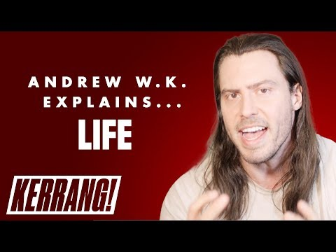 Andrew W.K.'s Life Lessons: Life And Partying