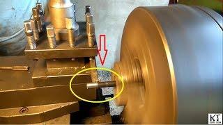 Trik Cepat Cara Membuat Ulir Sekrup Grat Baut Menggunakan Mesin Bubut