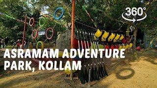 Asramam Adventure Park, Kollam | 360° Video