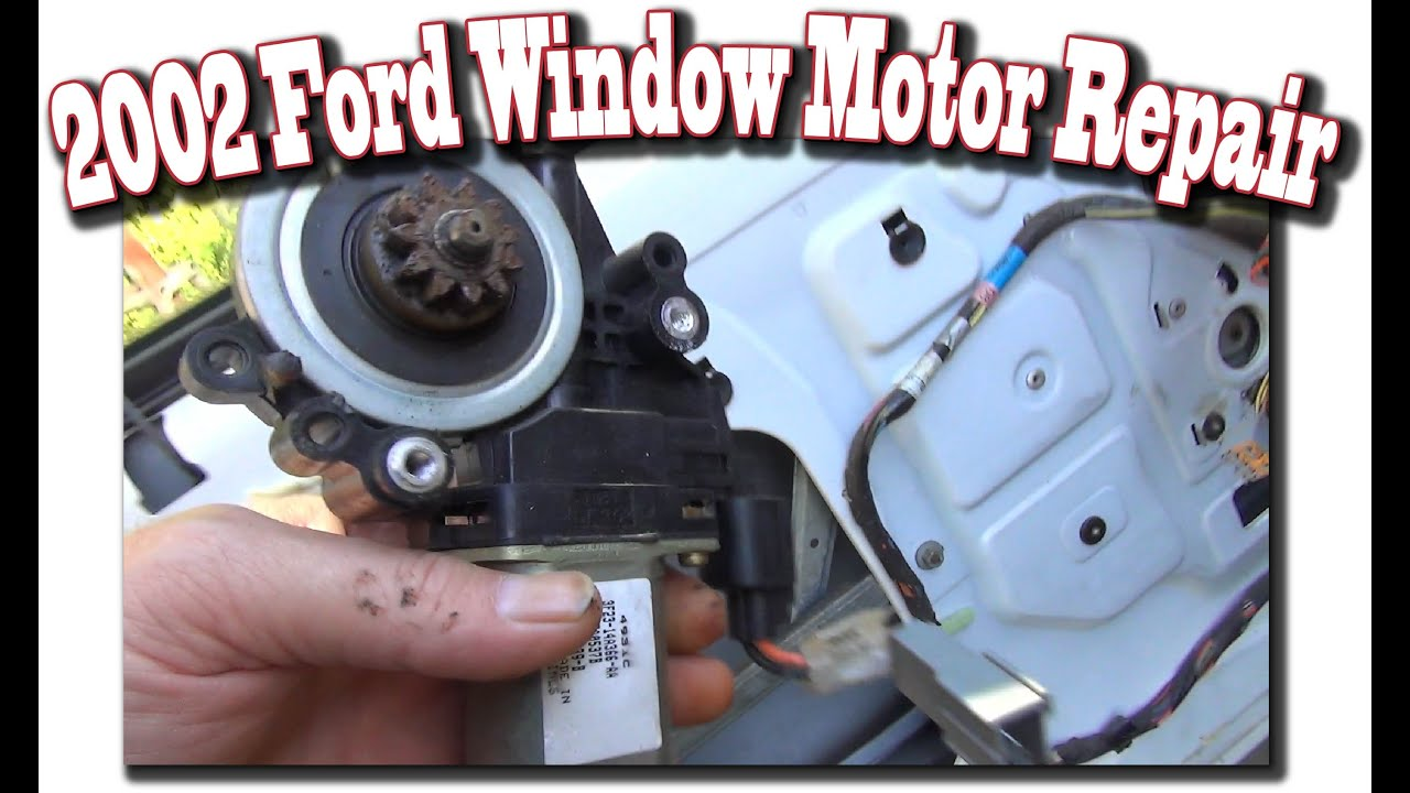 medium resolution of 2002 windstar window motor repair