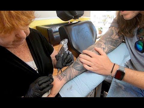 Tattooed by my Grandma