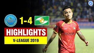 Hightlights: Khánh Hòa 1-4 SLNA | Hậu vệ & Thủ môn Khánh Hòa liên tiếp kiến tạo cho tiền đạo SLNA
