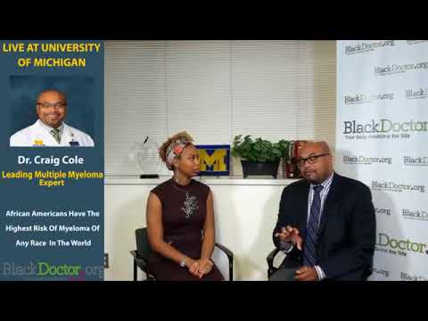 Blood Cancer Impacting African Americans, with Dr. Craig Cole