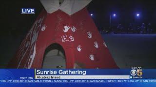 Alcatraz Indigenous People's Sunrise Gathering Marks 50 Years Since Occupation