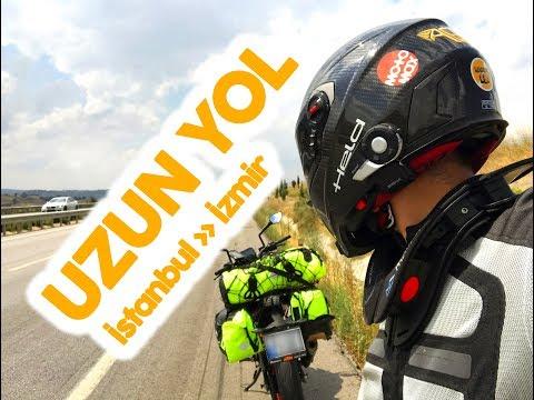 İSTANBUL - İZMİR MOTOSİKLETLE UZUN YOL - İZMİR #1