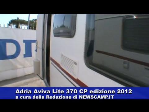Caravan Adria Aviva Lite 370 CP edizione 2012