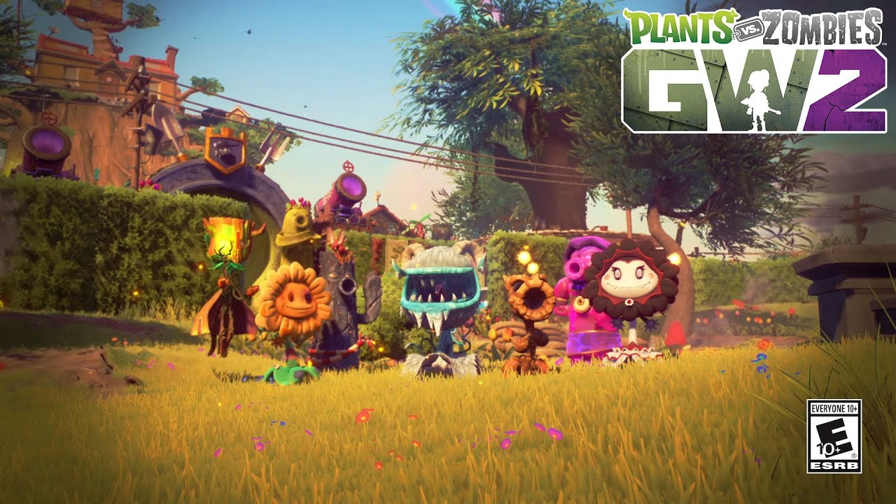 Plants Vs Zombies Garden Warfare 2 Plant Variant Gameplay