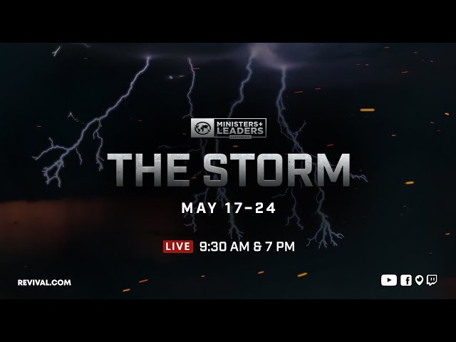 The Storm: Special Anointings - Part 1