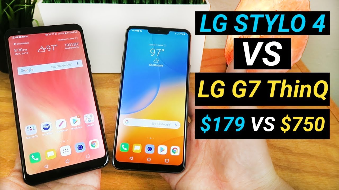 LG Stylo 4 vs LG G7 ThinQ - Better than LG's Flagship?