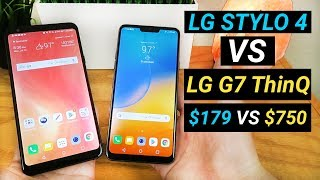 LG Stylo 4 vs LG G7 ThinQ - Better than LG