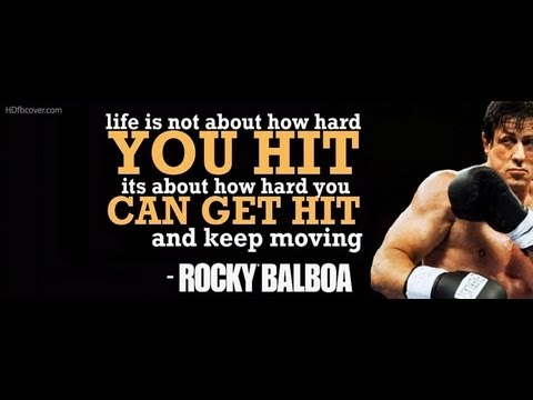 Rocky Balboa S Inspirational Speech To His Son Music By Bmusic6