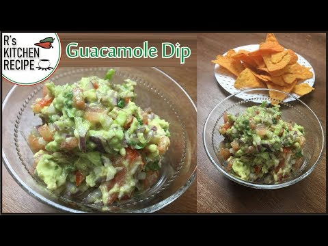 avocado-dipping-sauce-for-chips-|-how-to-make-fresh-homemade-guacamole
