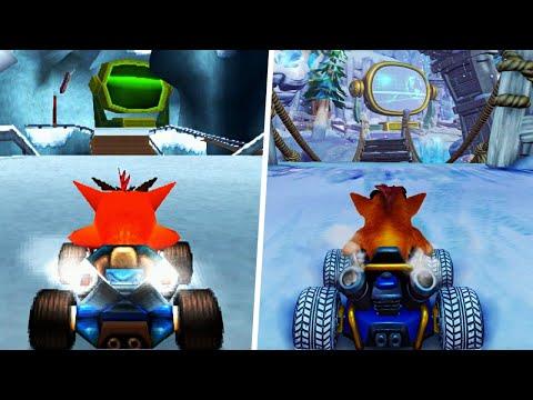 Crash Team Racing Nitro-Fueled - Adventure Mode Comparison