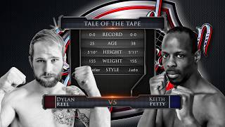 """Caged Aggression Challengers 7 """"Road to the Big Show"""" Fight 3. Dylan Reel vs Keith Petty"""