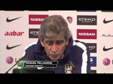 "Manuel Pellegrini: ""Sergio Aguero macht Unterschied aus"" | Manchester City - FC Everton"