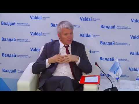 Дискуссия с участием министра спорта Российской Федерации Павла Колобкова