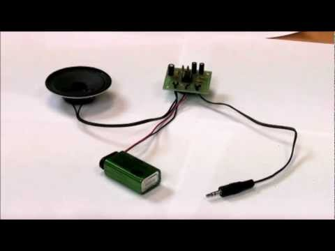 MP3 Mono Amplifier Project Kit