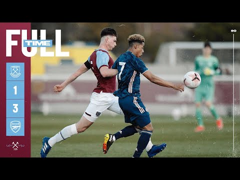 West Ham U18s vs Arsenal U18s 1-3 | FA Youth Cup HIGHLIGHTS